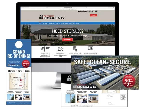 Responsive Website / Print Materials
