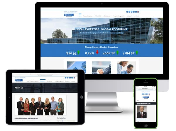 Responsive Website, Commercial Real Estate