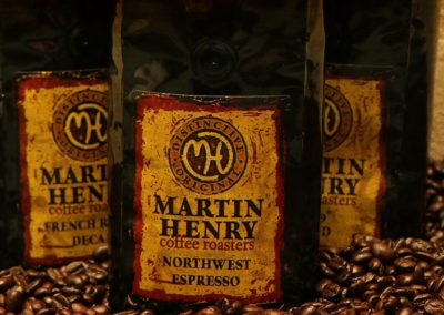 Professional Photography - Martin Henry Coffee Bags