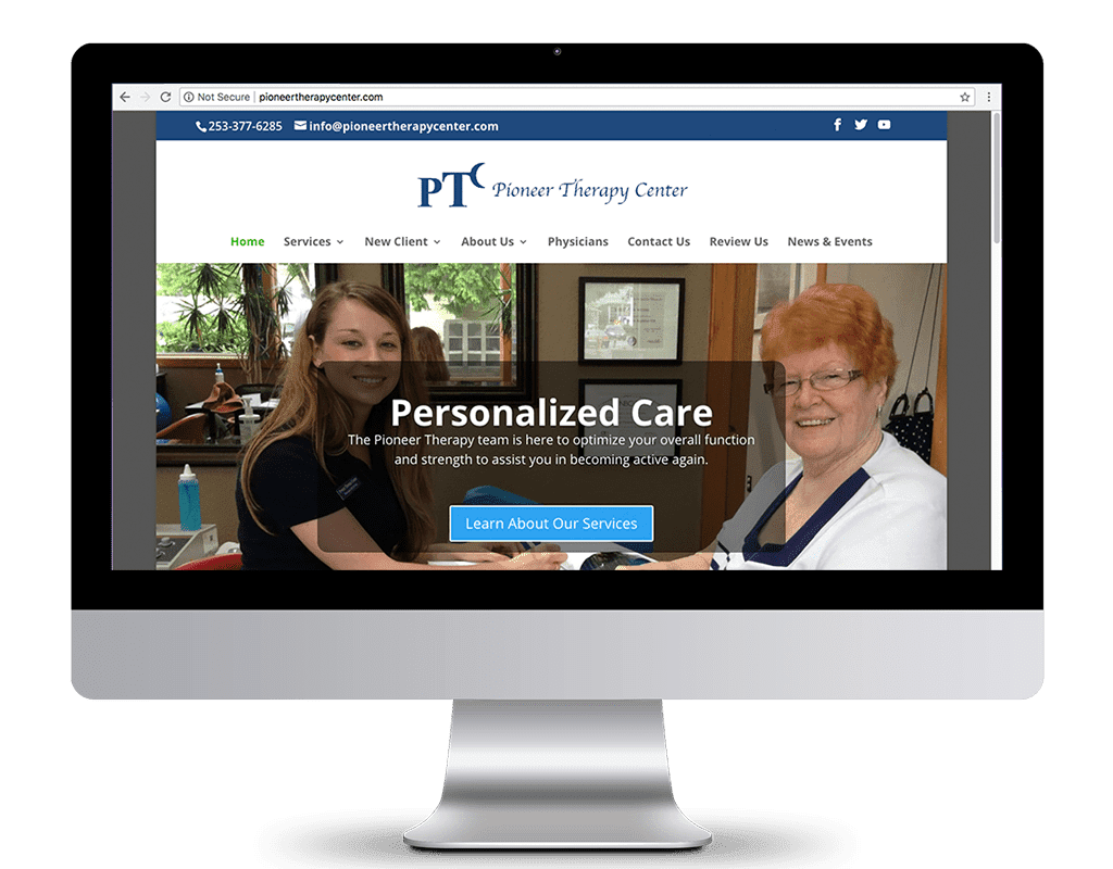 Occupational Therapy Website Design
