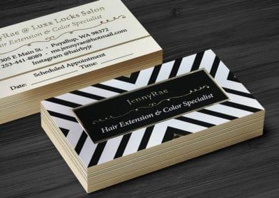 Custom Gold Foil Business Cards