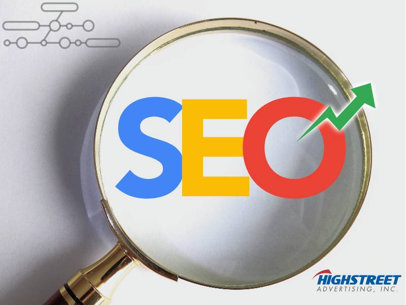 SEO services provided by Highstreet Advertising